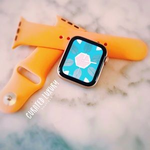 Apple Watch Silicone Sport Band orange 38/…